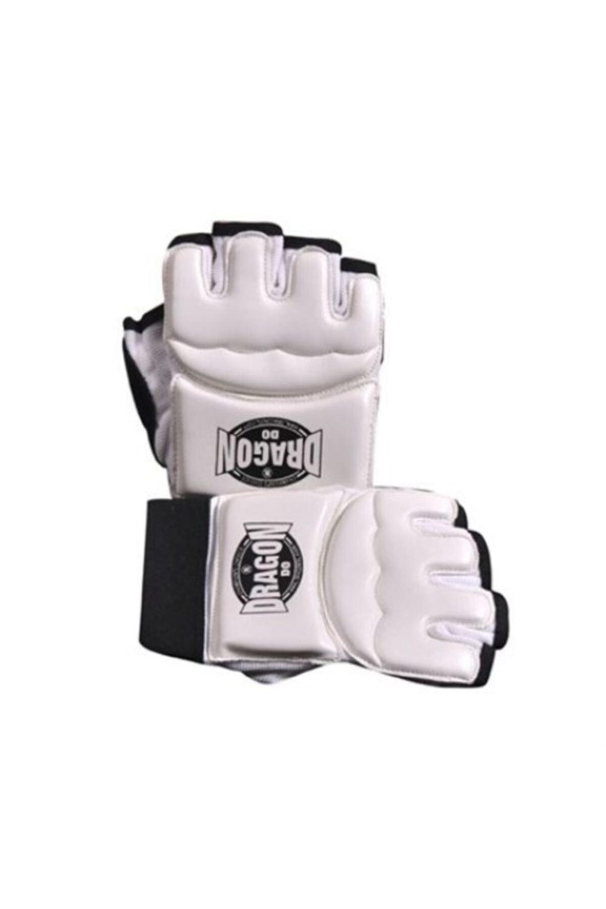Unisex White Taekwondo Gloves M Size