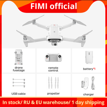 FIMI X8SE 2020 camera drone 4K Quadcopter 8KM drone accessory kit 3axis full drone set RTF remote control best Christmas gift