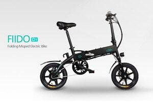 FIIDO D1 Электрический складной велосипед 14 ''10.4Ah дисковый тормоз