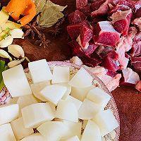 萝卜炖牛肉(厨房小白也可以轻易上手)的做法图解1