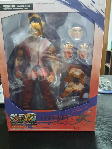PLAY ARTS 26cm Game Character KEN Action Figure Model Toys photo review