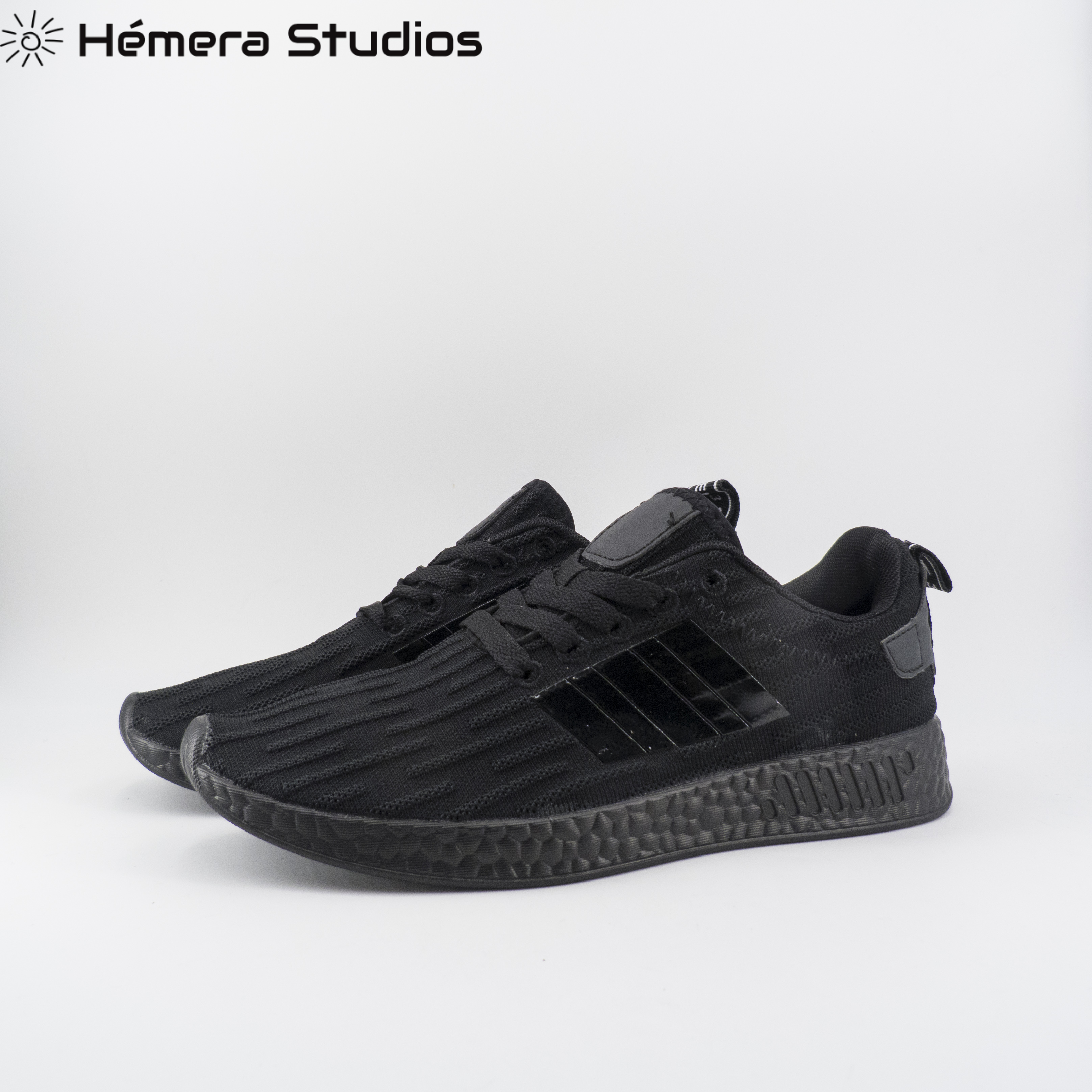 Man Shoes With Cords Black Sneakers With Super Light And Comfortable Platform Sneakers Fashion Man