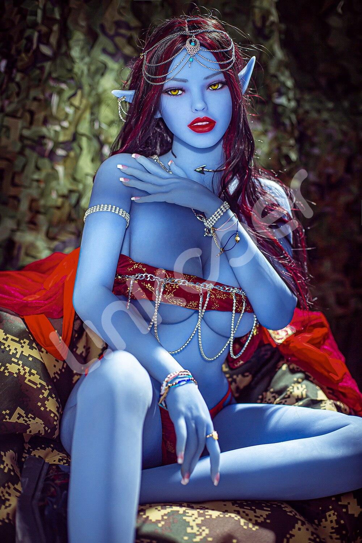 U8aaca72e630a44e7bde173371e808d42I Linkooer-Muñeca sexual de silicona para hombres adultos, juguete de belleza de elfo azul de 158cm, con ano realista, Vaginal y Oral