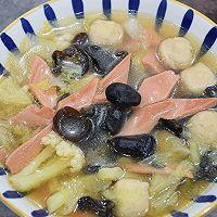 """#美食说出""""新年好""""#家常三鲜汤的做法图解10"""