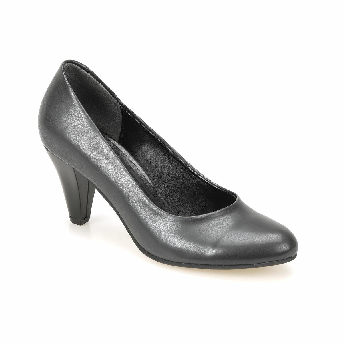 FLO 72.308052.Z Black Women Shoes Polaris