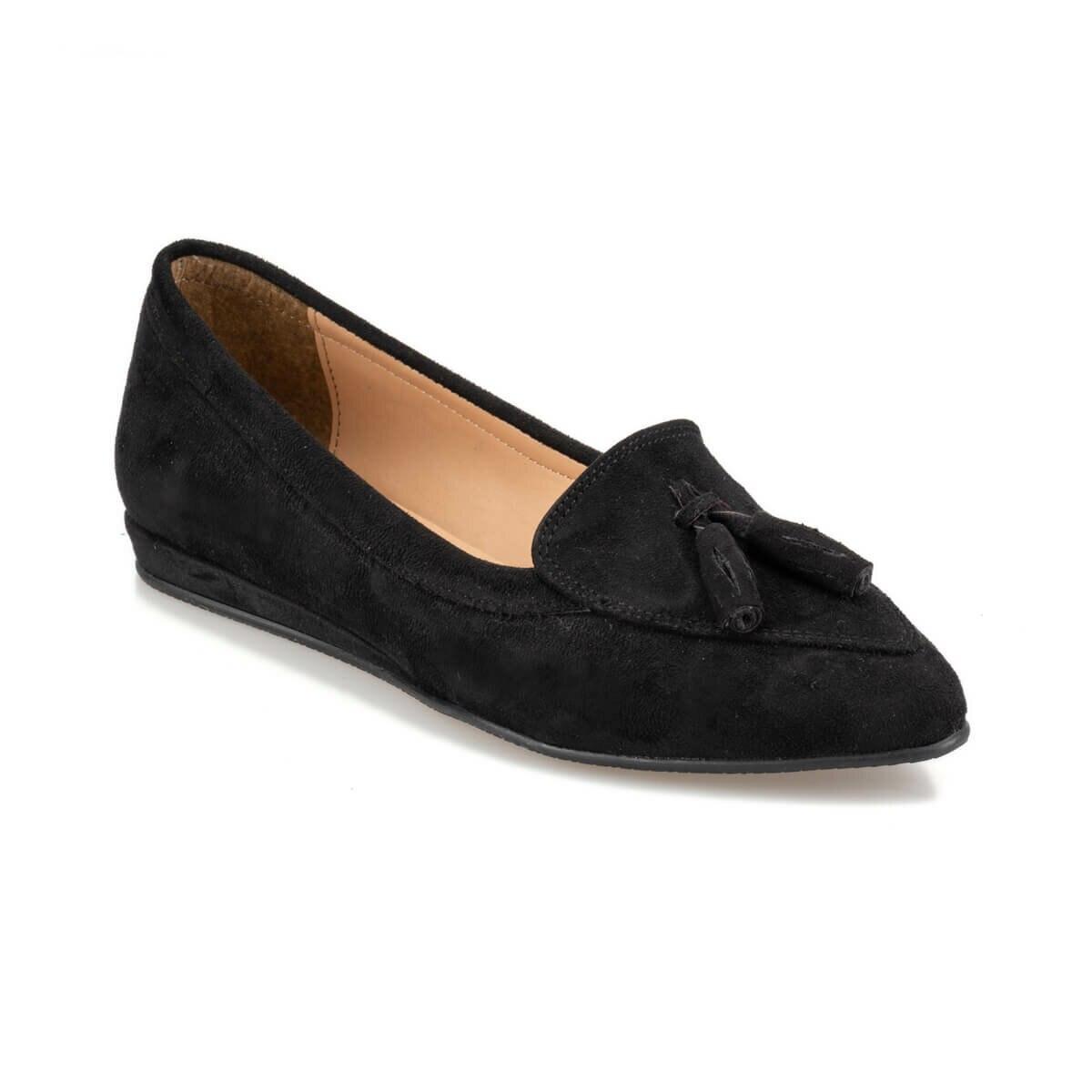 FLO 92.314097SZ Black Women Loafer Shoes Polaris