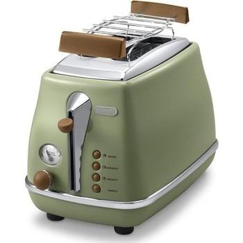 Delonghi CTOV 2103.GR Icona Vintage Ekmek Kızartma Makinası 3 Farklı Renk delonghi ctov 2103 gr icona vintage ekmek kızartma makinası 3 farklı renk