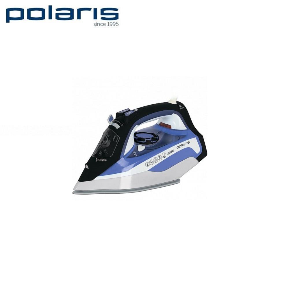 Iron Polaris PIR 2888AK white/blue  Iron for ironing Mini iron steam iron Steam generator for clothing Irons Electric steamgenerator Small iron electric iron polaris pir 2490ak