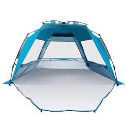 UV 태양 대피소 방풍 방수 통기성 휴대용 야외 캠핑 비치 텐트 맞는 3-4 사람