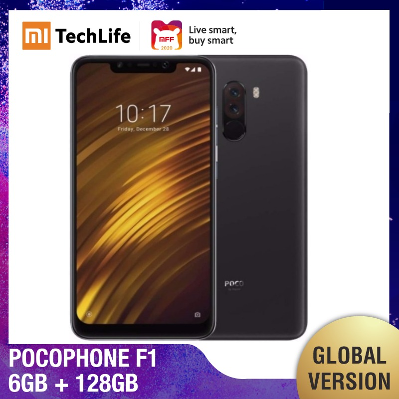 Global Version Xiaomi Pocophone F1 128GB ROM 6GB RAM (Brand New / Sealed) Poco F1, Poco 128, Pocof1