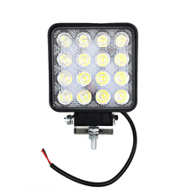 48w ampul 4x4 Led çalışma ışığı sel uzak ışık Led çalışma lambası ATV SUV lambaları Led ışıkları iş için Offroad araba sürüş gün ışığı