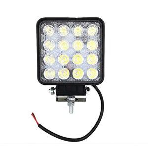 Image 1 - Bombilla Led de 48w, 4x4, luz Led de trabajo, luz Led de trabajo lejana, Lámpara de trabajo ATV SUV, luces Led para el trabajo, luz diurna para coche todoterreno