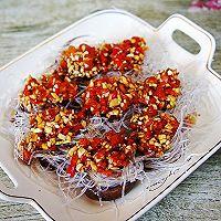 #安佳食力召集,力挺新一年#蒜蓉粉丝蒸香菇的做法图解6