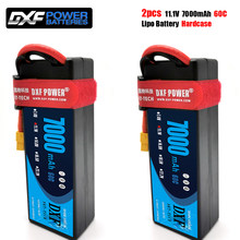 Batería Lipo DXF 3S 11,1 V 5200mAh 7000mah 6500mah 50C 60C 80C100C 120C 160C para modelo RC, coche, barco, camión, Buggy, 2 uds.
