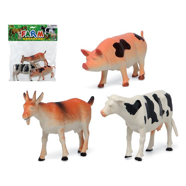 Set Of Farm Animals (3 Pcs) 115292