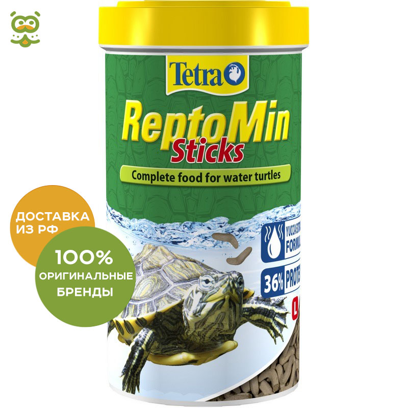 Tetra ReptoMin food in the form of sticks for aquatic turtles, 500 ml.