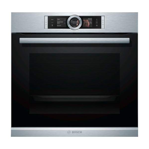 Pyrolytic Oven BOSCH HRG6767S2 A 71 L 3600W Black Inox