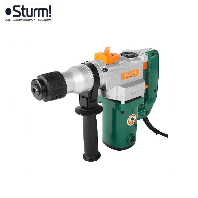 RH25901 Sturm Rotary hammer, 900 W, 3 modes, 800 rpm, 4000 bpm, case 10.01.14 Jackhammer Drilling and Grooving operation id2195p hammer drill pros sturm 1000 w 0 2700 rpm 0 45900 bpm percussion drill boring hammer drilling in concrete