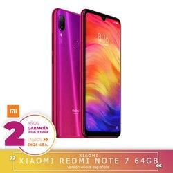 """[Oficjalna wersja hiszpańska] Xiaomi uwaga Redmi 7 Smartphone, ekran HD + 6,3 """"(4 bardzo ciężko GB + 64 bardzo ciężko GB, bateria 4000 mAh, kamera 48MP's) 3"""