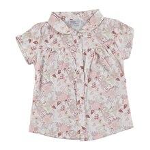ebebek HelloBaby Baby Girl Texture Shirt