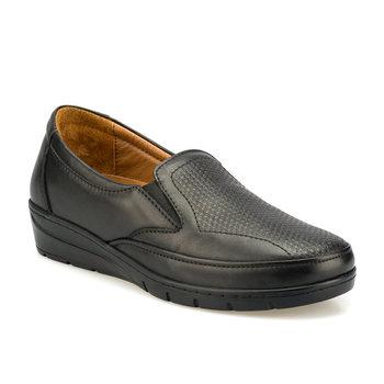FLO 103001 Z czarne buty damskie Polaris 5 punkt tanie i dobre opinie Polaris 5 Nokta Trzciny