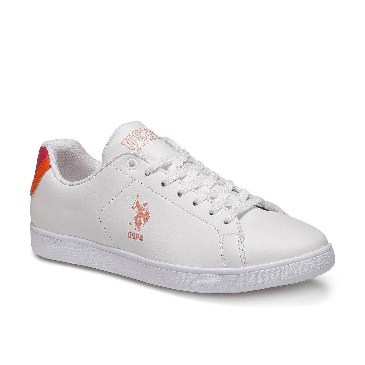 FLO TOBIAS White Women 'S Sneaker Shoes U.S. POLO ASSN.
