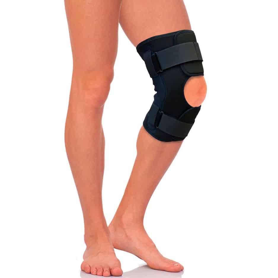 Бандаж на коленный сустав с полицентрическими шарнирами Т 8508 Тривес Налокотники и наколенники    АлиЭкспресс