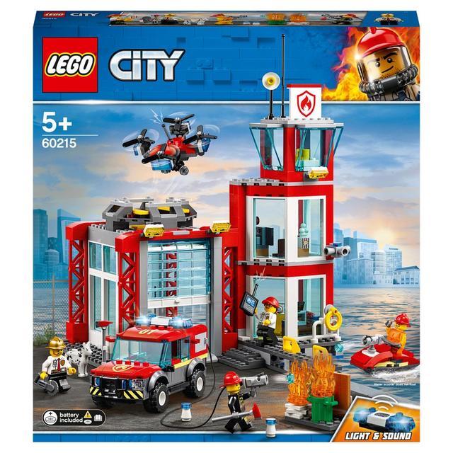 Конструктор LEGO City Fire Пожарное депо
