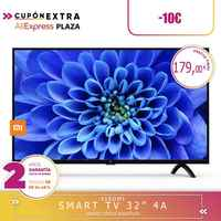 [Garantia oficial da versão espanhola] xiaomi mi smart tv 4a 32 polegada 1.5 gb duro 8 gb 64-bit quad core android 9,0 hd tv wi-fi
