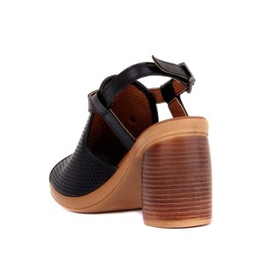 Image 5 - פייר קרדן אמיתי עור נשים סנדלי קיץ נוח סיבתי נעלי אישה בוהן ציוץ עקבים גבוהים תחתון אופנה אמא גבירותיי סנדלי Sandalias Mujer גודל 36 40 2019 חדש