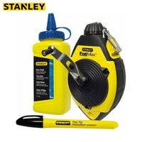 Kit marker Stanley 0 47 681 werkzeug zubehör bau liefert kennzeichnung schnur flasche von kreide pulver marker-in Mal-Werkzeugset aus Werkzeug bei