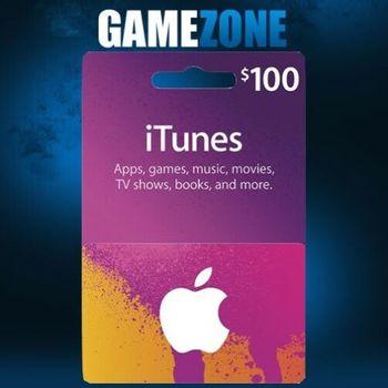 Cadeau de 100 $ US Apple ITunes cards   App Store code Clé   American USA   iPhone etc..