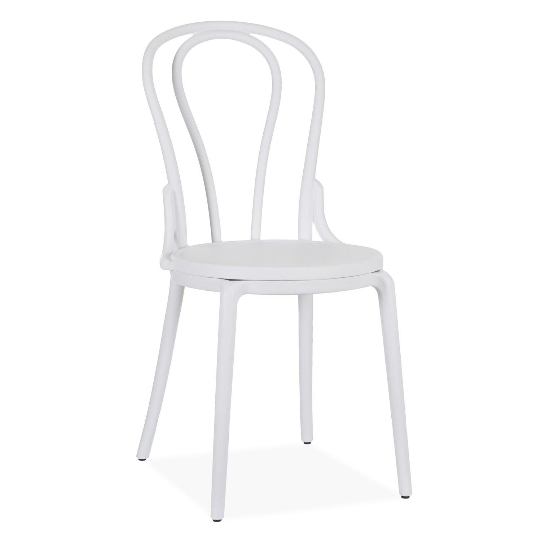 Chair THONA, Polypropylene White