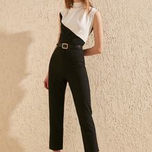 Trendyol With Color Block Jumpsuit TWOSS20TU0053