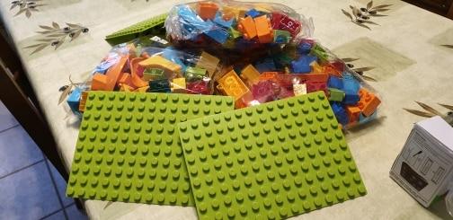 Circuit à Bille Educatif Bloc Construction Compatible Lego Duplo Jouet Blocks
