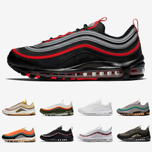Bred 97 Mens Running shoes Realtree White Evergreen Sunburst UNDEFEATED UNDFTD O