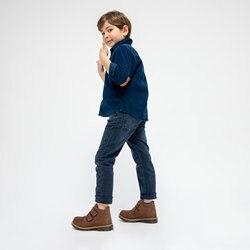 FLO RADELA Braun Männlichen Kind Stiefel KINETIX
