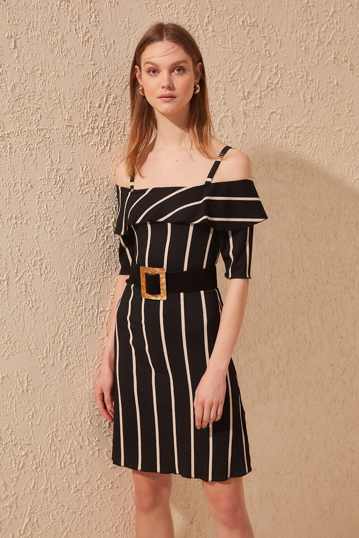 Trendyol Pendant Knit Dress TWOSS20EL0695