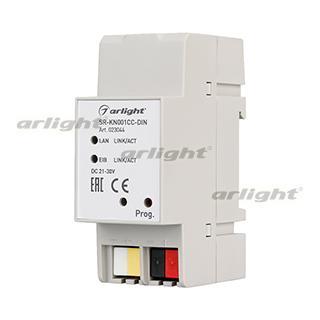 023044 Converter SR-KN001CC-DIN (20-30V 12mA, Ethernet) Box-1 Pcs ARLIGHT-Управление Light/Lot KNX/Converters ^ 83