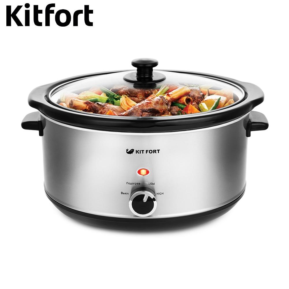 купить Slow cooker Kitfort KT-208 kitchen appliances cooking недорого