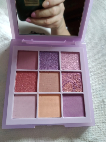 9 Color Eye Shadow Palette Long-lasting Waterproof Pearly Matte Easy To Wear Eyeshadow Eyes Make Up TSLM1 photo review