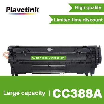 Plavetink CC388A 388A 88A Toner Cartridge For HP LaserJet P1007 P1008 P1106 P1108 Pro M1136 M1213n Printer Black Toner C