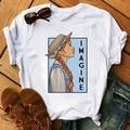Frauen t shirt 2020 Weibliche Anne shirley Green gables t-shirt roman vorstellen starke weibliche Nette Kurzarm Tops Mädchen T hemd T