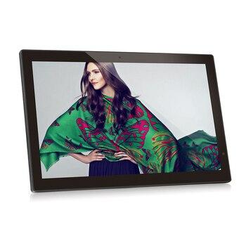 18.5 inch widescreen LCD monitor-digital signage-advertising display (HDMI in, AV in, VESA of 100mm*100mm, Mini USB, USB, SD)