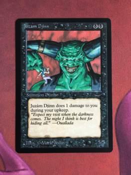 Juzam Djinn Arabian Nights Magician ProxyKing 8.0 VIP The Proxy Cards To Gathering Every Single Mg Card.
