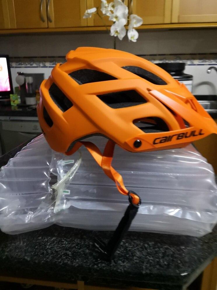 Capacete da bicicleta montanha segurança cairbull