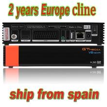 Приемное устройство спутниковый приемник Gtmedia V8 nova HD 1080P Европа Cline в течение 2 лет Испания Встроенный Wi-Fi Gtmedia V9 супер опционально