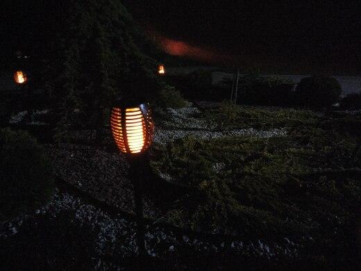 Lâmpadas solares Gramado Iluminação Trajeto