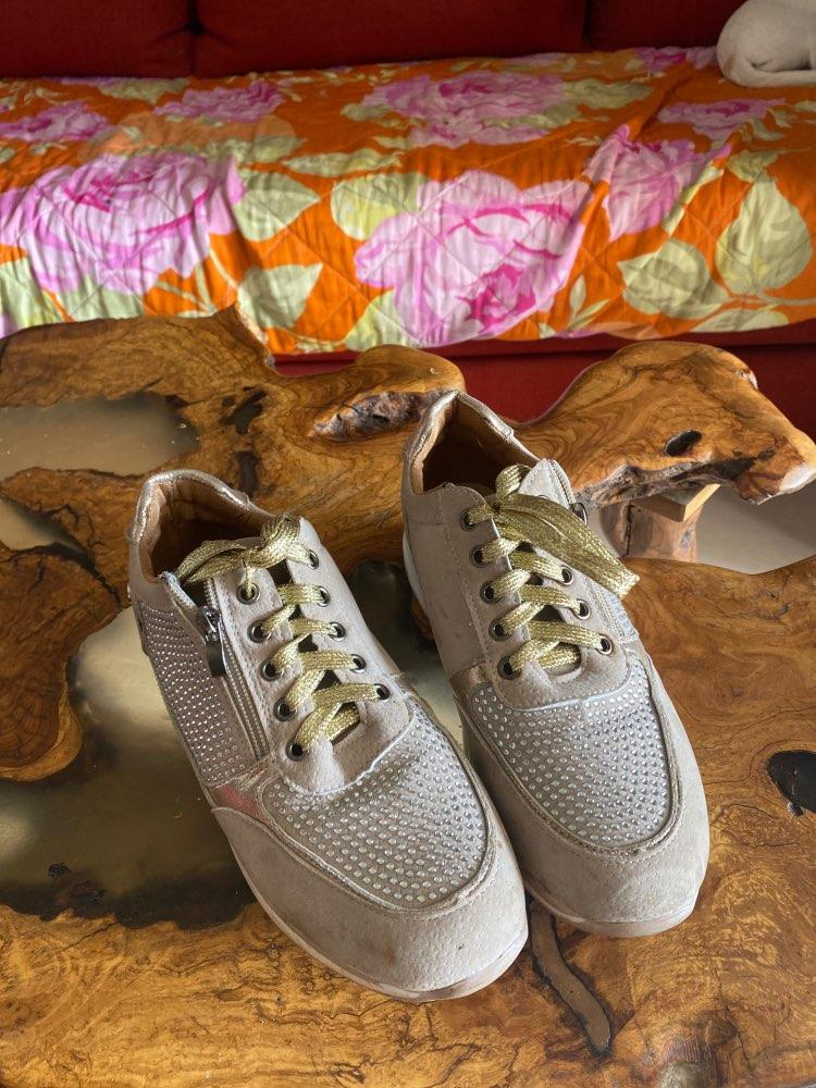 ELEGANT ORTHOPEDIC COMFORTABLE SHOES Round Toe Soft Sole photo review