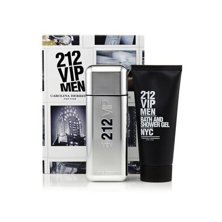 SET 212 VIP MEN EDT 100ML + 100ML SHOWER GEL 200ML